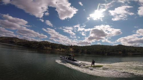 Following Surf Boat
